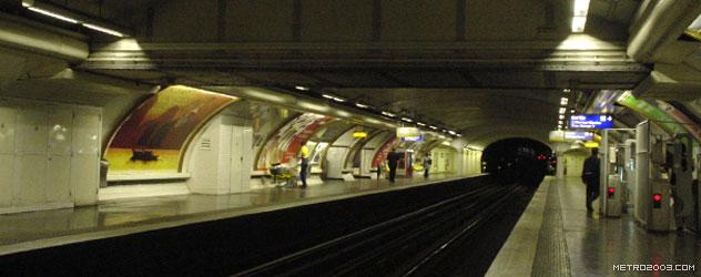 paris metro(パリのメトロ)George V></div>  <div id=