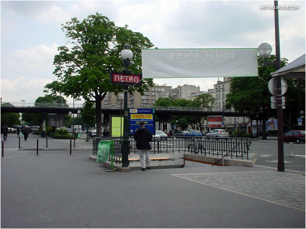 ポルト・ド・ヴァンセンヌ駅