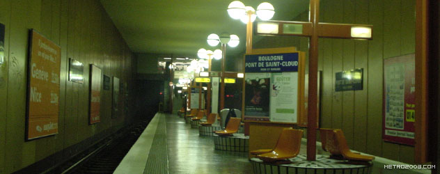 paris metro(パリのメトロ)Boulogne Pont de Saint-Cloud></div>  <div id=