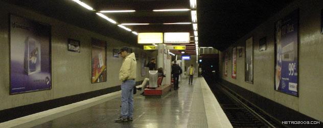 paris metro(パリのメトロ)Boulogne Jean Jaurès></div>  <div id=