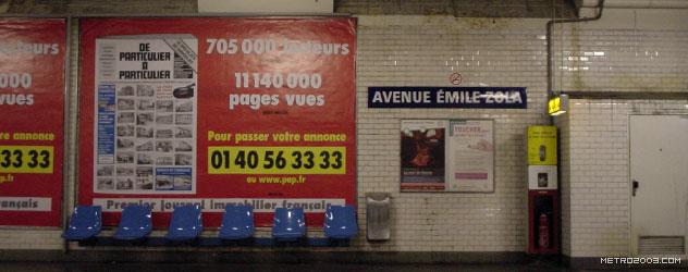 paris metro(パリのメトロ)Avenue Émile Zola></div>  <div id=