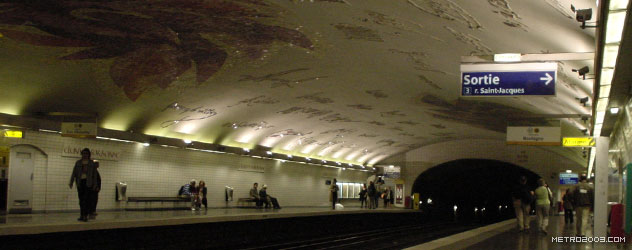 paris metro(パリのメトロ)Cluny-La Sorbonne></div>  <div id=