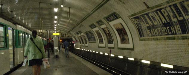 paris metro(パリのメトロ)Porte de la Chapelle></div>  <div id=