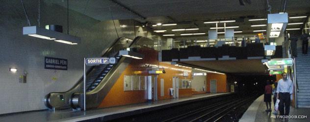 paris metro(パリのメトロ)Gabriel Péri></div>  <div id=
