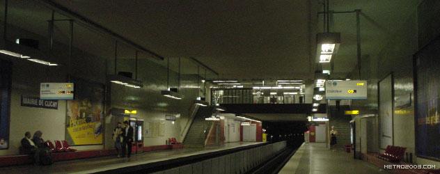 paris metro(パリのメトロ)Mairie de Clichy></div>  <div id=