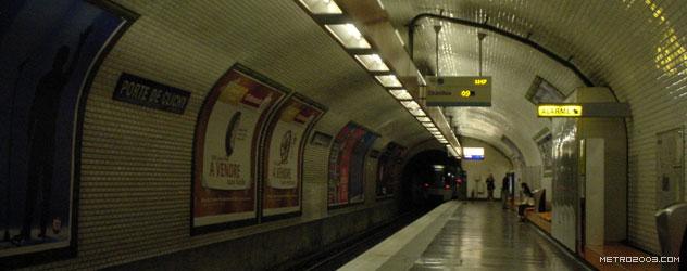 paris metro(パリのメトロ)Porte de Clichy></div>  <div id=