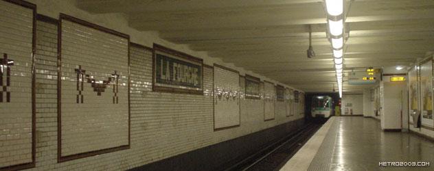 paris metro(パリのメトロ)La Fourche></div>  <div id=