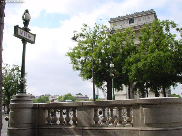 シャルル・ド・ゴール=エトワール駅