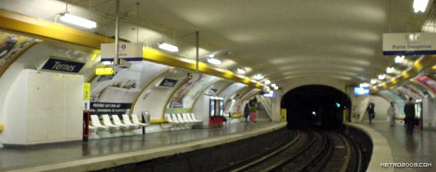 paris metro(パリのメトロ)Ternes></div>  <div id=