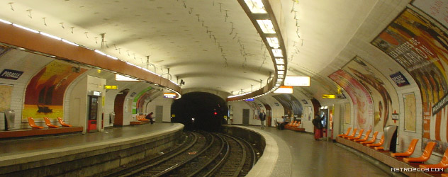 paris metro(パリのメトロ)Pigalle></div>  <div id=
