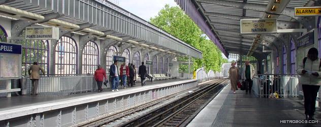 paris metro(パリのメトロ)La Chapelle></div>  <div id=