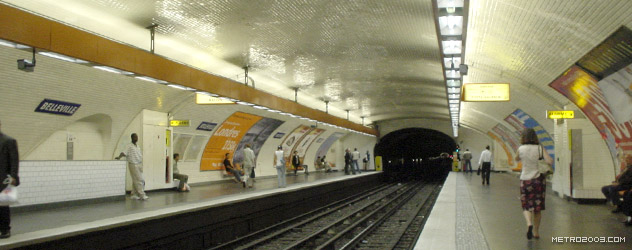 paris metro(パリのメトロ)Belleville></div>  <div id=