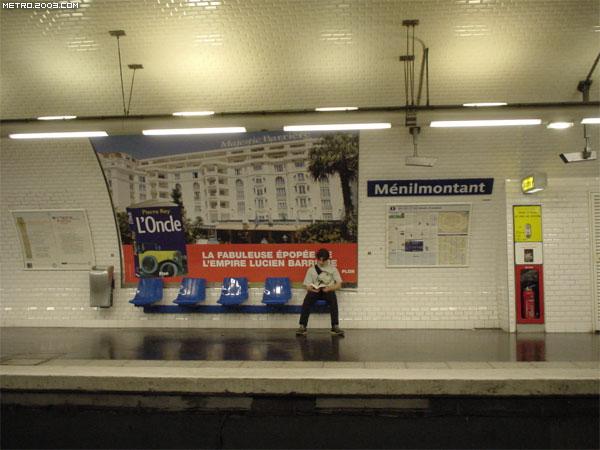 Ménilmontant(メニルモンタン駅...