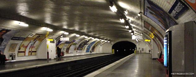 paris metro(パリのメトロ)Philippe Auguste></div>  <div id=