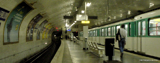 paris metro(パリのメトロ)Pont de Levallois Bécon></div>  <div id=