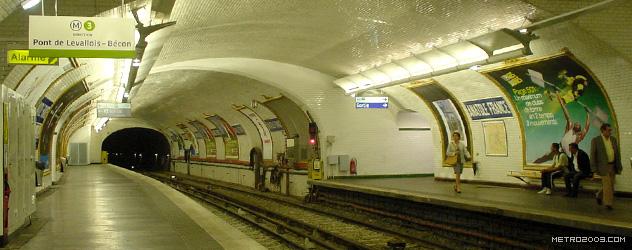 paris metro(パリのメトロ)Anatole France></div>  <div id=
