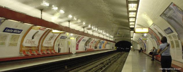 paris metro(パリのメトロ)Louise Michel></div>  <div id=