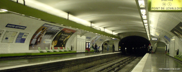 paris metro(パリのメトロ)Quatre-Septembre></div>  <div id=
