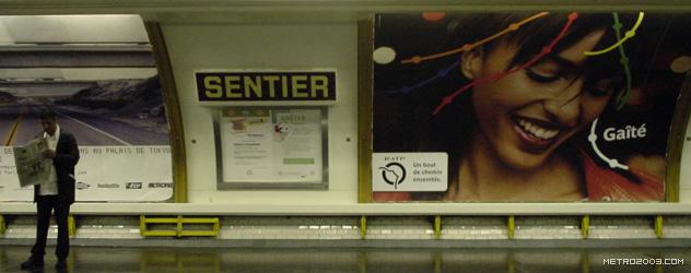 paris metro(パリのメトロ)Sentier></div>  <div id=