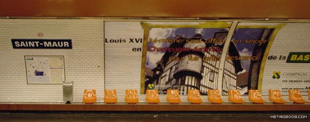paris metro(パリのメトロ)Rue Saint-Maur></div>  <div id=