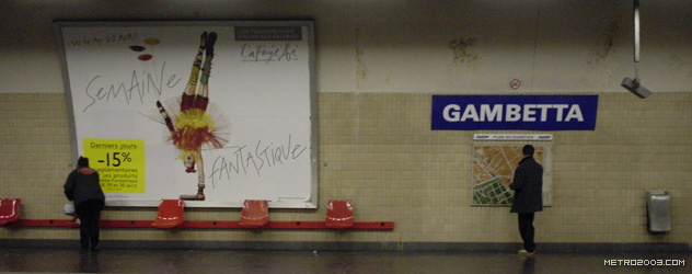 paris metro(パリのメトロ)Gambetta></div>  <div id=