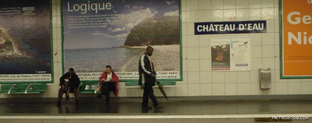 paris metro(パリのメトロ)Château d'Eau></div>  <div id=