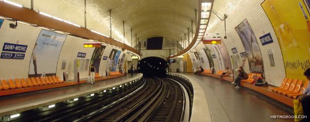 paris metro(パリのメトロ)Saint-Michel></div>  <div id=