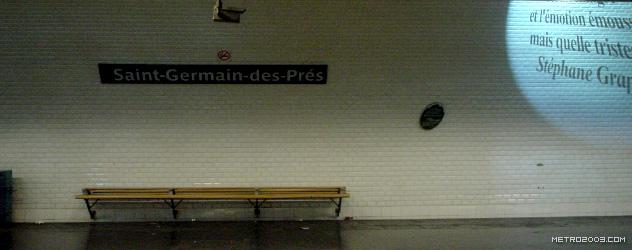 paris metro(パリのメトロ)Saint-Germain-des-Prés></div>  <div id=