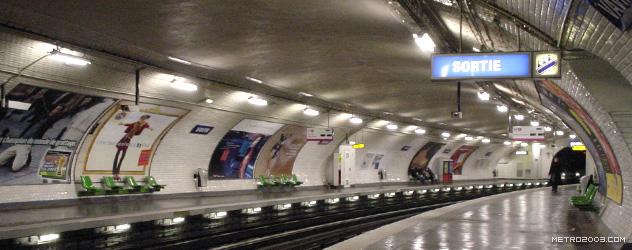Vavin(ヴァヴァン駅)| パリの地下鉄(メトロ)Metro a Paris