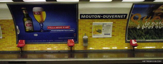 paris metro(パリのメトロ)Mouton-Duvernet></div>  <div id=