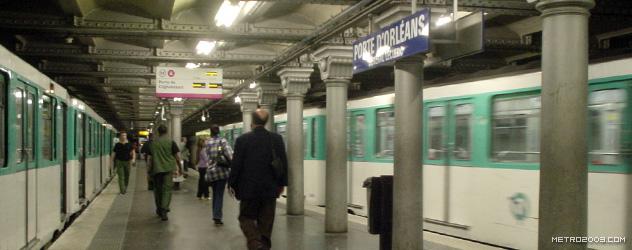 paris metro(パリのメトロ)Porte d'Orléans></div>  <div id=