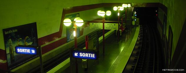 paris metro(パリのメトロ)Bobigny-Pantin Raymond Queneau></div>  <div id=