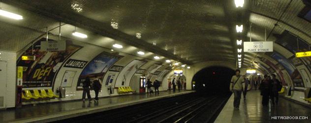 paris metro(パリのメトロ)Jaurès></div>  <div id=