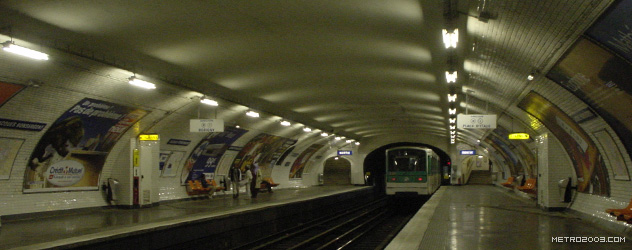 paris metro(パリのメトロ)Jacques Bonsergent></div>  <div id=