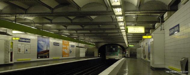 paris metro(パリのメトロ)Richard-Lenoir></div>  <div id=