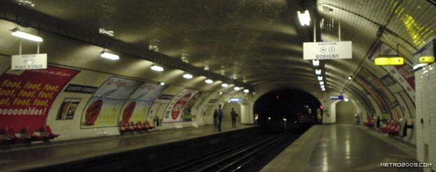paris metro(パリのメトロ)Campo-Formio></div>  <div id=