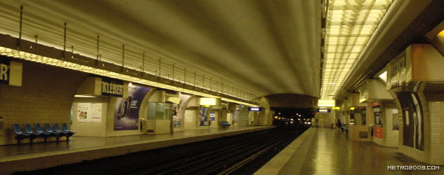 paris metro(パリのメトロ)Kléber></div>  <div id=