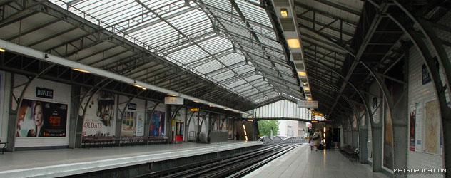 paris metro(パリのメトロ)Dupleix></div>  <div id=