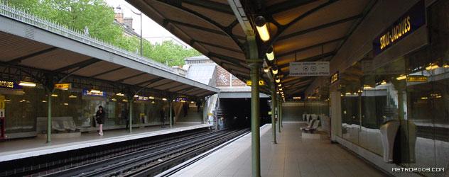 paris metro(パリのメトロ)Saint-Jacques></div>  <div id=