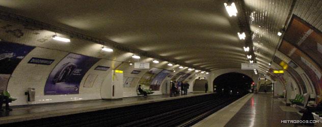 paris metro(パリのメトロ)Dugommier></div>  <div id=