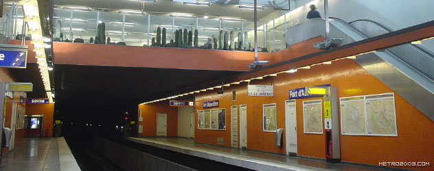 paris metro(パリのメトロ)Fort d'Aubervilliers></div>  <div id=