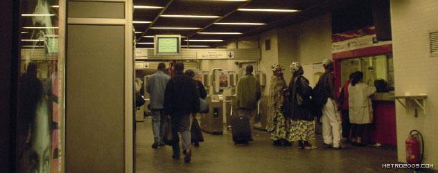 paris metro(パリのメトロ)Aubervilliers-Pantin Quatre Chemins></div>  <div id=