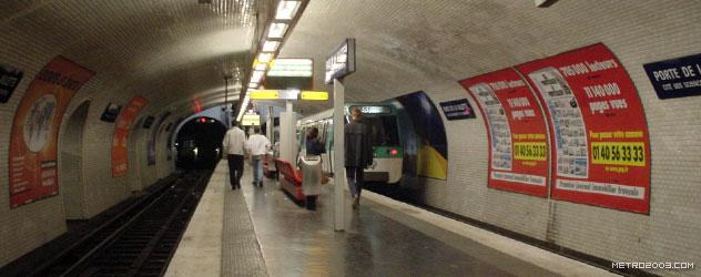 paris metro(パリのメトロ)Porte de la Villette></div>  <div id=