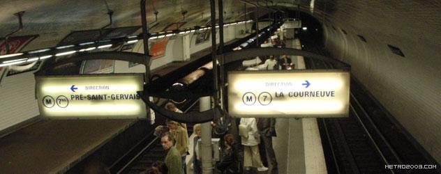 paris metro(パリのメトロ)Louis Blanc></div>  <div id=
