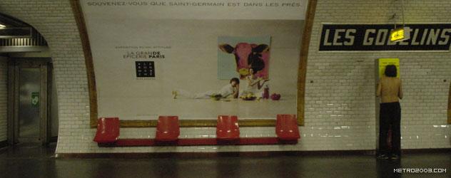 paris metro(パリのメトロ)Les Gobelins></div>  <div id=