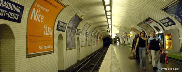 paris metro(パリのメトロ)Strasbourg-Saint-Denis></div>  <div id=