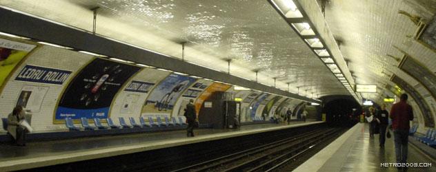 paris metro(パリのメトロ)Ledru-Rollin></div>  <div id=