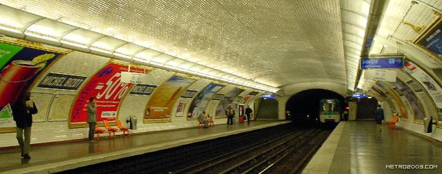 paris metro(パリのメトロ)Michel Bizot></div>  <div id=