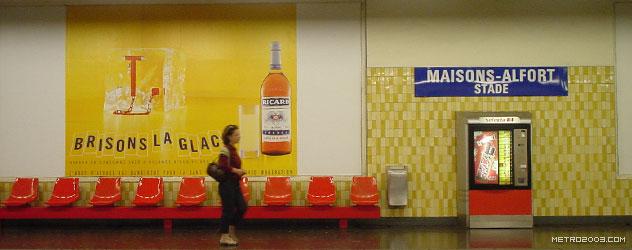 paris metro(パリのメトロ)Maisons-Alfort-Stade></div>  <div id=