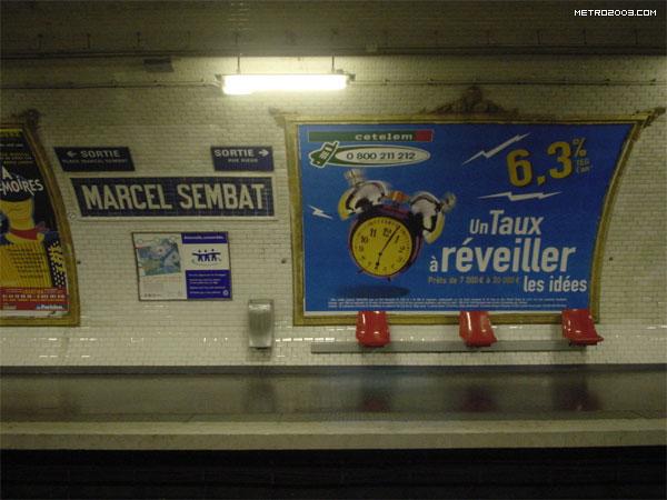 marcel sembat metro a paris. Black Bedroom Furniture Sets. Home Design Ideas